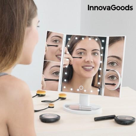 Zväčšujúce zrkadlo s LED 4v1