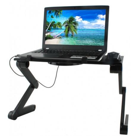 Flexibilný stolík pod notebook