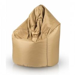 Sedací vak ECOPUF - MEGA SAKO GOLD - vodeodolný polyester