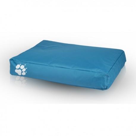 Pelech pre psa a mačku - Vankúš ECOPUF - large NC6 - Modrá