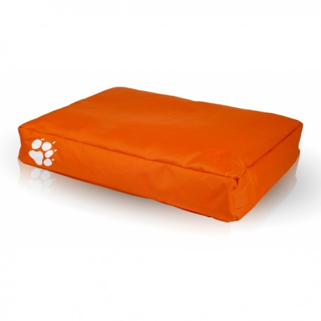 Pelech pre psa a mačku - Vankúš ECOPUF - large NC9 - Oranžová
