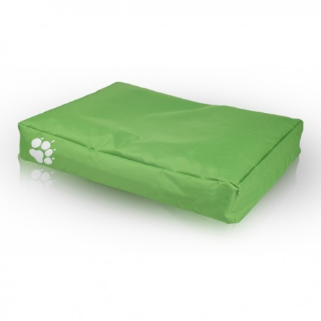 Pelech pre psa a mačku - Vankúš ECOPUF - large NC2 - Zelená