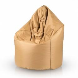 Sedací vak ECOPUF - SAKO GOLD - vodeodolný polyester