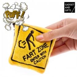 Prívesok na kľúče fart zone - Gadget and gifts