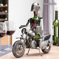 Kovový stojan na víno Motorkár Homania