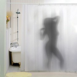 Sprchový záves sexy silueta