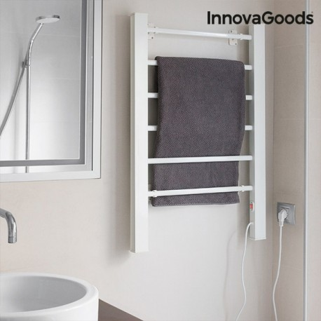 Elektrický sušiak uterákov InnovaGoods biely 90 W (6 tyčí)