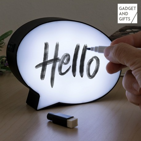 LED lampa Bublina s popisovačom Gadget and Gifts