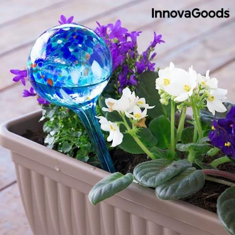 AQUA GLOBES - dekorácia a samočinný zavlažovač kvetov