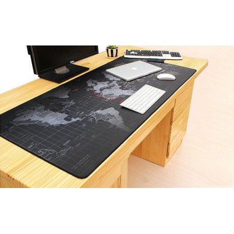 7669 DR Podložka na stôl - Mapa sveta - 30x80cm