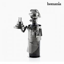 Kovový stojan na víno Všetko najlepšie k narodeninám Homania!