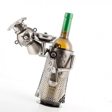 Kovový stojan na víno Majster Šéfkuchár