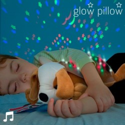 LED projektor so zvukom Šteniatko Glow Pillow