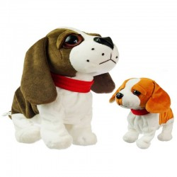 Chodiaci a štekajúci interaktívny pes