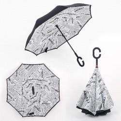 Obrátený dáždník - Noviny