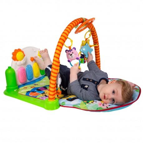 Detská hracia deka s hrazdičkou a pianom