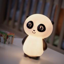 Nočná LED lampička Panda - malá