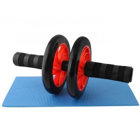 Dvojitý valec na cvičenie