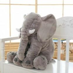 Plyšový slon pre deti 60cm