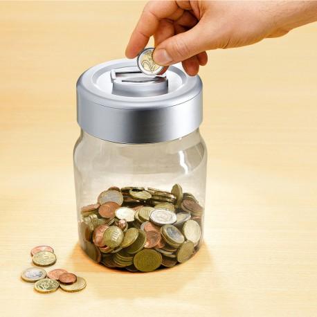 Pokladnička s počítadlom na euromince