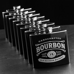 Kovová ploskačka whiskey