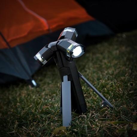 LED svietidlo s trojnožkou 3 V 1 Total Torch