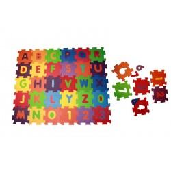 Penové puzzle na zem malé 36 kusov
