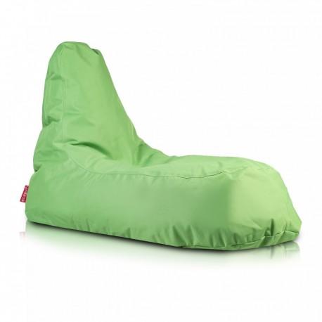 Ecopuf Sedací vak ECOPUF - SLOPE - polyester NC2 - Zelená
