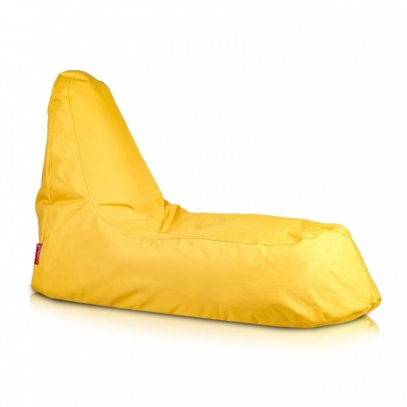 Ecopuf Sedací vak ECOPUF - SLOPE - polyester NC4 - Žlutá