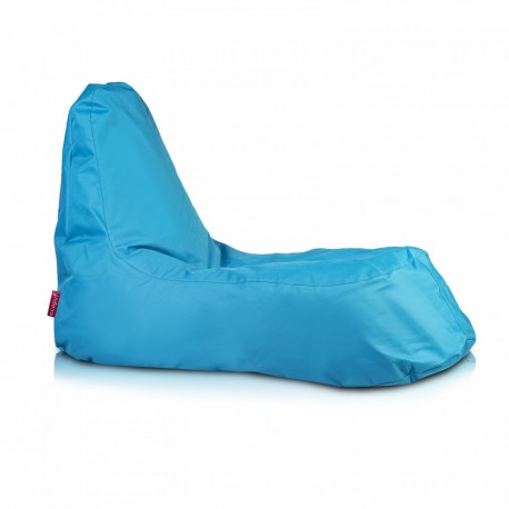 Ecopuf Sedací vak ECOPUF - SLOPE - polyester NC6 - Modrá