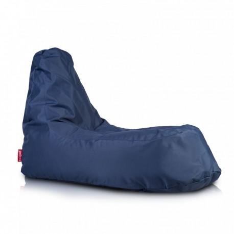 Ecopuf Sedací vak ECOPUF - SLOPE - polyester NC8 - Tmavě modrá