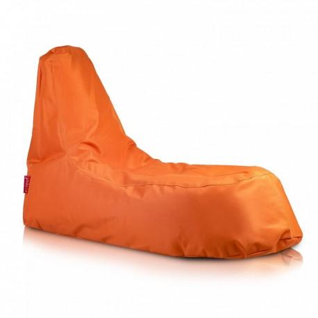 Ecopuf Sedací vak ECOPUF - SLOPE - polyester NC9 - Oranžová