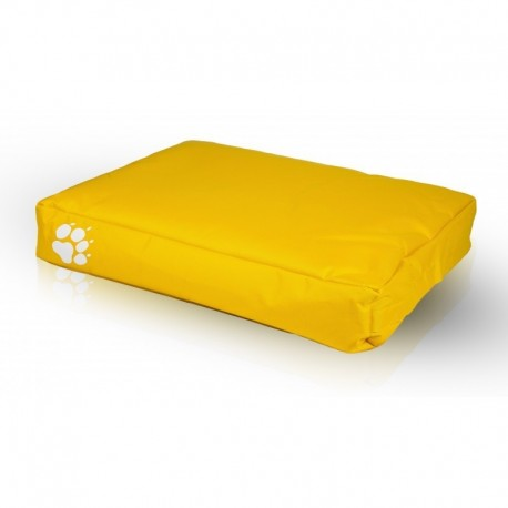 Pelech pre psa a mačku - vankúš ECOPUF - small NC4 - Žltá