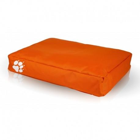 Pelech pre psa a mačku - vankúš ECOPUF - small NC9 - Oranžová