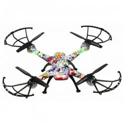 Dron DENVER ELECTRONICS DCH-460 0,3 MP 2.4 GHZ 650 MAH VIACFAREBNÁ