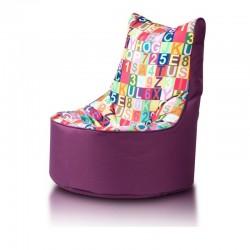 Detský MINI sedací vak Ecopuf - SEAT S modern polyester