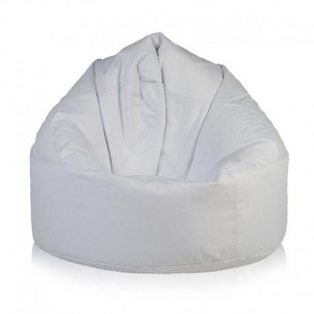 Ecopuf Sedací vak Ecopuf - VIPER polyester NC3 - Biela