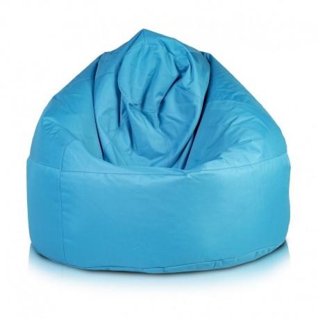 Ecopuf Sedací vak Ecopuf - VIPER polyester NC6 - Modrá