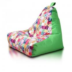 Sedací vak Ecopuf - KEIKO - S Modern polyester