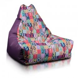 Sedací vak Ecopuf - KEIKO S Modern polyester
