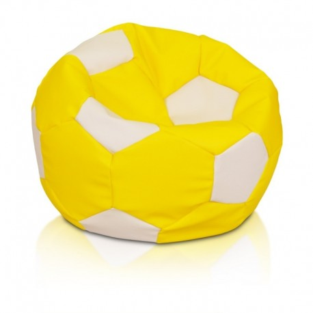 Sedací vak ECOPUF - FOOTBALL M - ekokoža 2