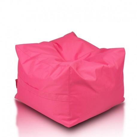 EF2051 Ecopuf Sedací vak ECOPUF - CUBO - polyester NC10 - Rúžová