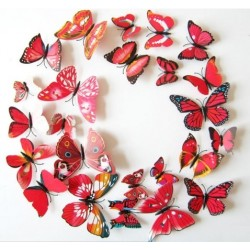 Nálepka / magnetka motýle
