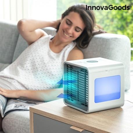 InnovaGoods Přenosná mini klimatizace s odpařovaním a LED FREEZE CUBE INNOVAGOODS