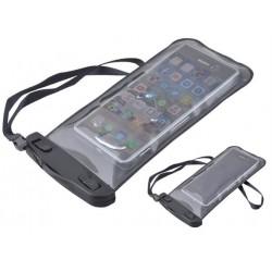 Vodeodolné puzdro na telefón čierne