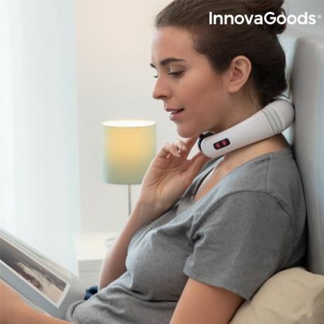 InnovaGoods Elektromagnetický masážny prístroj na krk a chrbát Innovagoods
