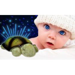 Magická svietiaca korytnačka (detská lampa s projektorom)