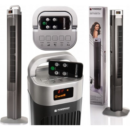 DR 6831 Vežový ventilátor TOWER-120 Premium 90W