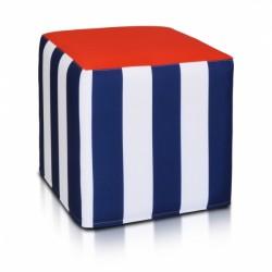 Taburetka ECOPUF - Kocka Modern polyester