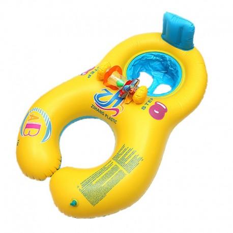 Plávacie koleso pre matku a dieťa 60 x 83 cm
